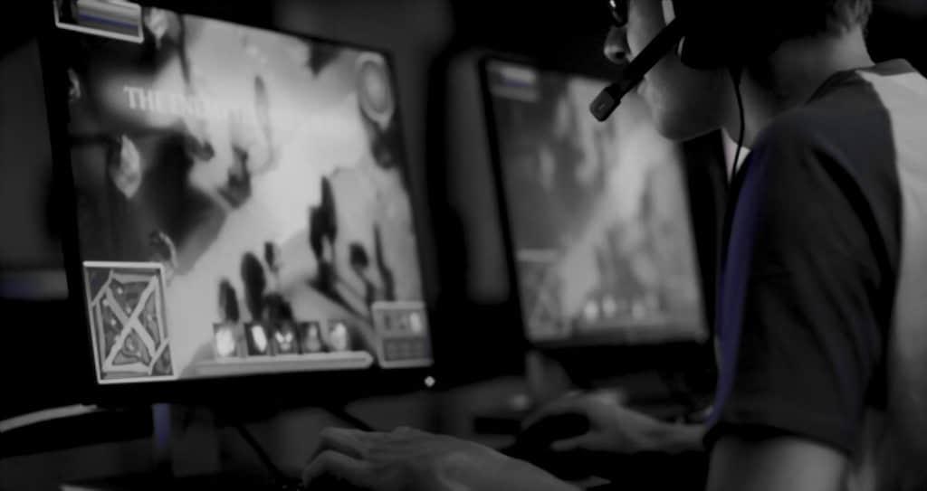 Baixa latência lhe dá uma experiência de jogo online suave